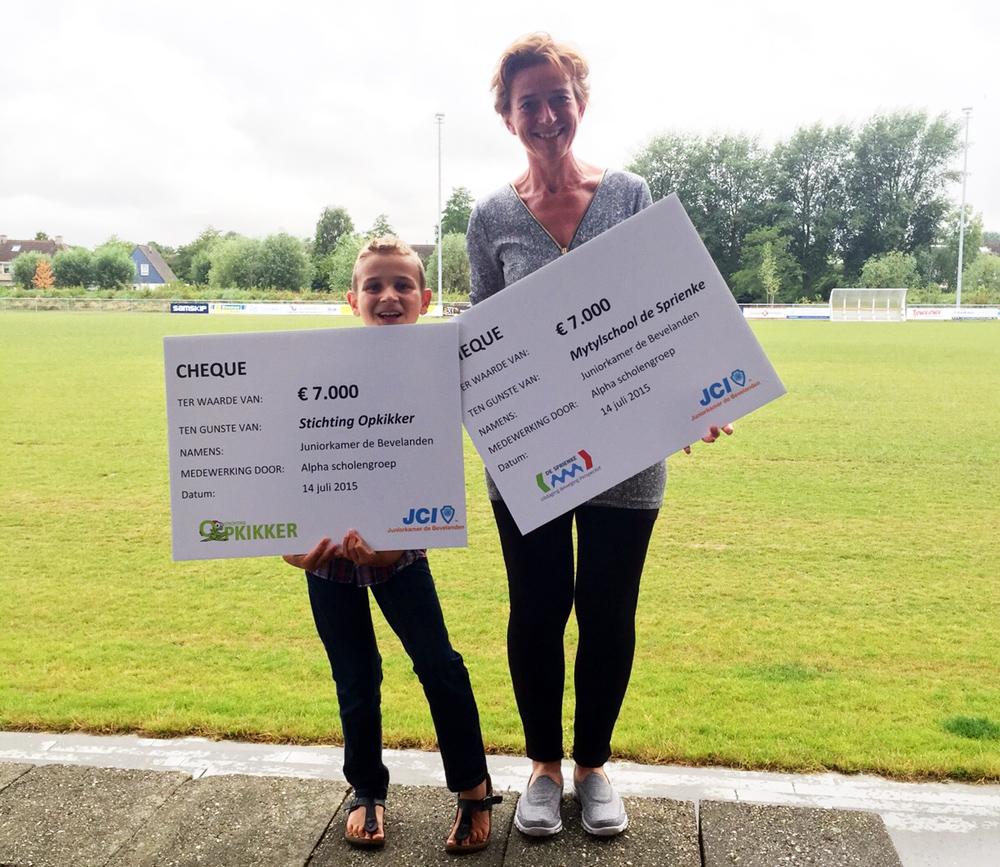 Walk For Kids: € 14.000,00 voor het goede doel