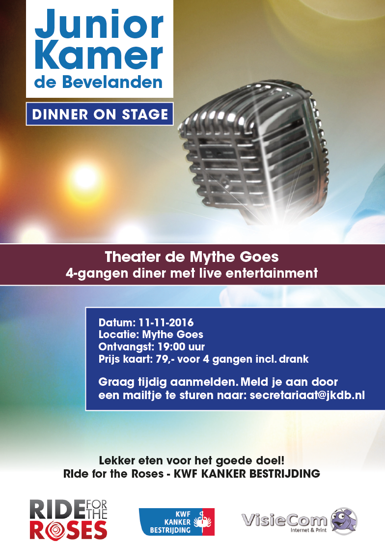 Dinner On Stage: Lekker eten voor het goede doel!